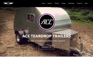 Ace Teardrop Logos