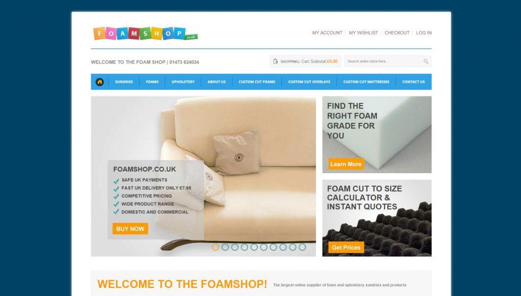 the foam shop